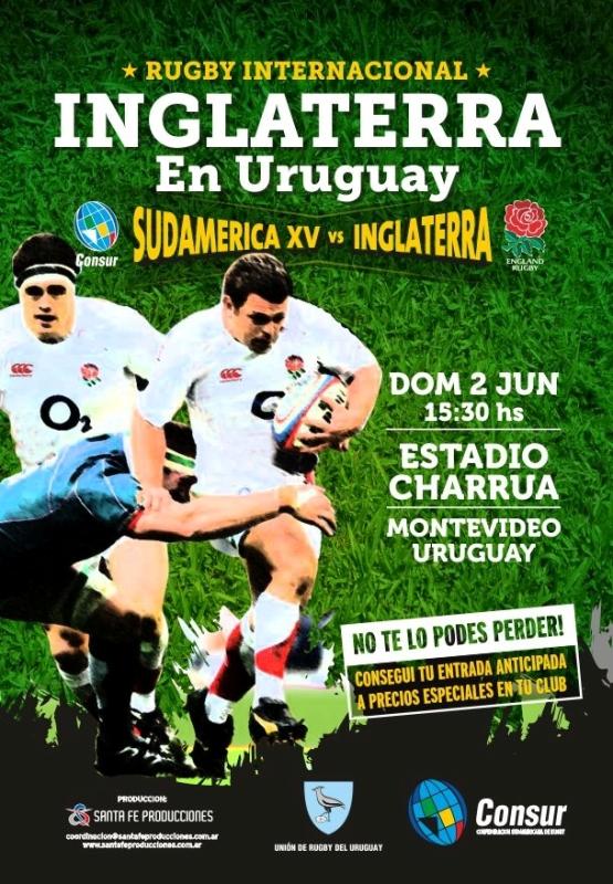 Sudamerica XV-Inglaterra