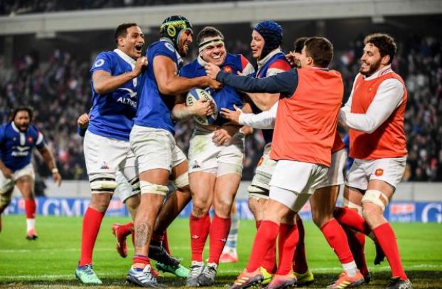 Tercer triunfo en 2018 para Les Bleus. Foto  Getty 1d5edcee1f31e